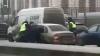 Видео: в Петербурге ДПС открыли огонь по водителю, сбежавшему от задержания