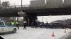 Опубликованы видео с места аварии с участием 27 машин в Подмосковье