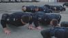 Сотрудники патрульной инспекции приняли участие во флешмобе 22 Push-Up Challenge