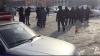 Неизвестный расстрелял водителя иномарки после погони у школы в ХМАО