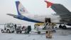 Сотрудник омского аэропорта протаранил самолет тележкой для багажа