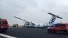 В Сеть попало видео жесткой посадки самолета в Амстердаме