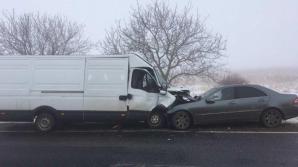 ДТП на трассе Леушены-Кишинёв: двое пострадавших