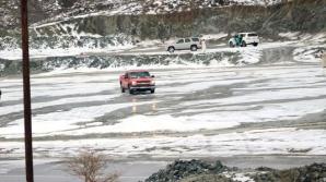 Арабские Эмираты занесло снегом