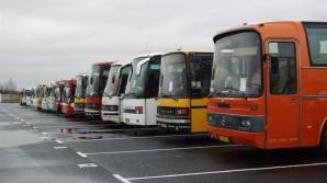 Водители междугородних автобусов протестуют против запретеа на въезд в Бельцы