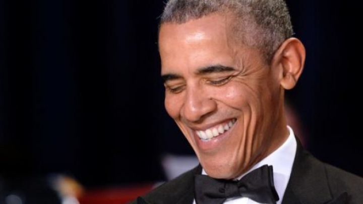 Видео: появление Обамы в Нью-Йорке привело очевидцев в восторг