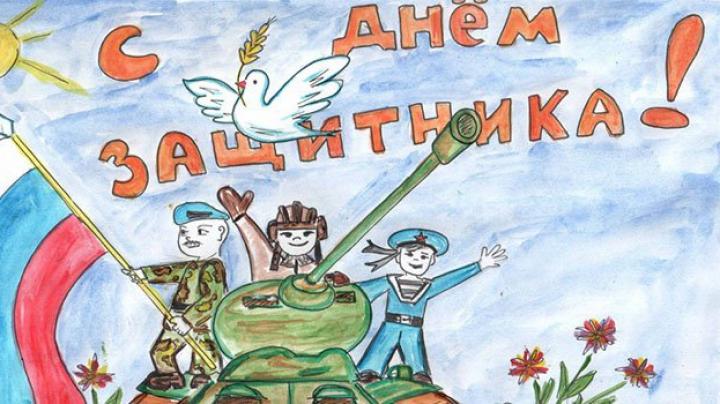 Российские военные в Сирии получили письма и рисунки от детей к 23 февраля