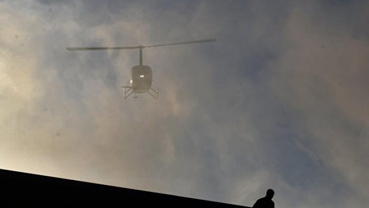 На Алтае упал вертолёт во время несанкционированного полёта