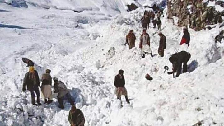 В Пакистане 14 человек погибли из-за схода лавины