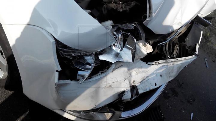 В массовой аварии с участием восьми машин на востоке Москвы погиб человек