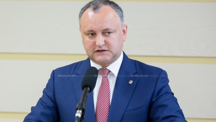 Игорь Додон просит руководство НАТО не спешить с открытием офиса в Кишиневе