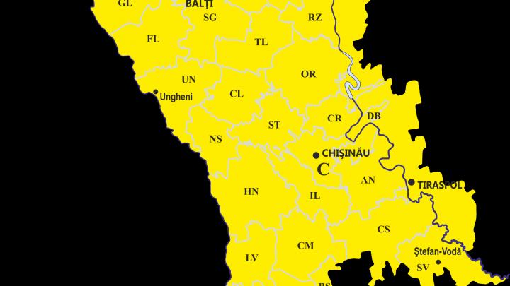 По всей стране объявлен желтый код метеоопасности в связи с туманом