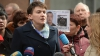 Надежда Савченко спела в прямом эфире