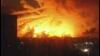 Новые кадры горящего склада боеприпасов в Харькове