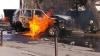 В Мариуполе взорвался автомобиль с военным