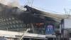 """На стадионе клуба """"Шанхай Шэньхуа"""" случился пожар"""