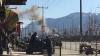 Опубликовано видео с места атаки террористов на военный госпиталь в Кабуле