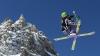 Амбюль установил рекорд скорости по езде на лыжах задом наперед