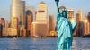 """Статуя Свободы в Нью-Йорке """"исчезла"""" в ночи"""