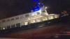 В Германии паром с пассажирами врезался в пирс и частично затонул