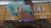 У Кремля задержаны активистки за попытку вывесить феминистский баннер