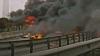В Стамбуле упал вертолёт: пять человек погибло