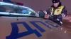 Нарушитель зажал руки гаишника автостеклом и протащил несколько метров