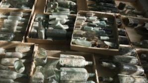 В Израиле нашли бутылки спиртного времен Первой мировой