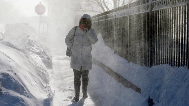 В Нью-Йорке ввели чрезвычайное положение из-за надвигающейся бури