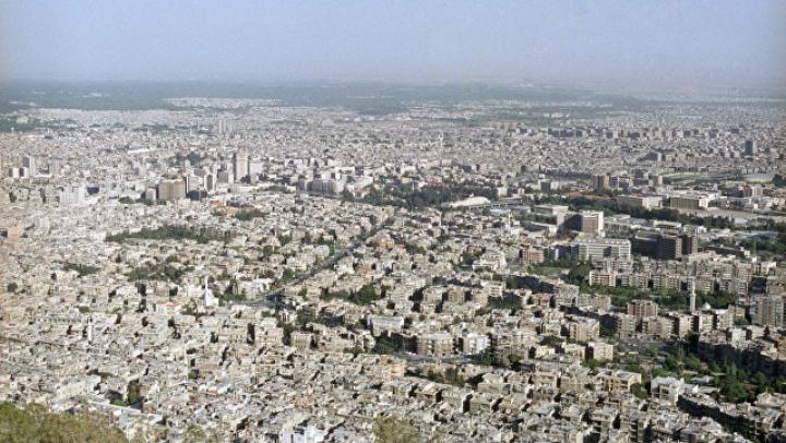 Террористы обстреляли исторический центр Дамаска