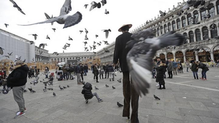 Грабители вызвали панику на площади Сан-Марко в Венеции