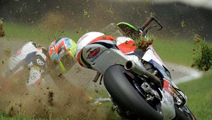 Чемпион мира по мотогонкам Деляль погиб во время тренировки