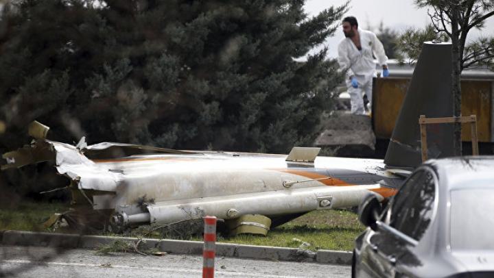 Тела погибших при крушении вертолета в Стамбуле россиян идентифицируют ДНК-методом