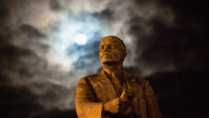 На Украине продали с молотка памятник Ленину