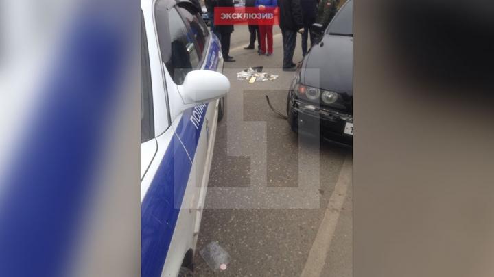Четверо сотрудников ДПС задержаны после смерти водителя во время погони