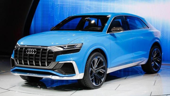 В Женеве состоялась презентация кроссовера Audi Q8 Sport Concept