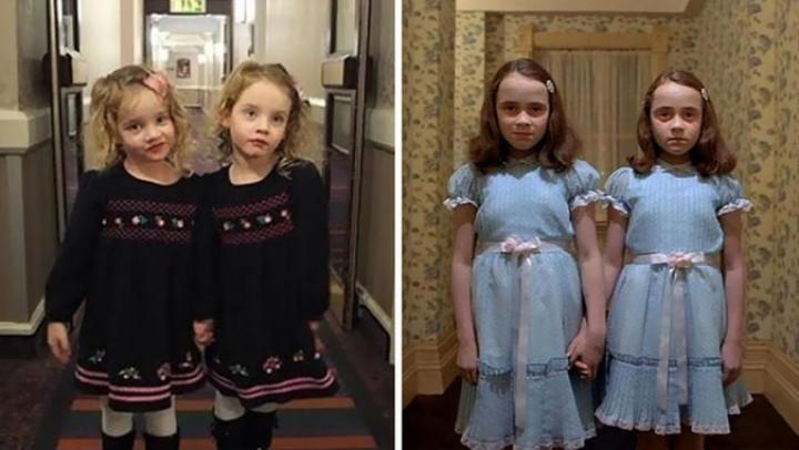 Четырёхлетние близняшки вогнали в ужас постояльцев отеля