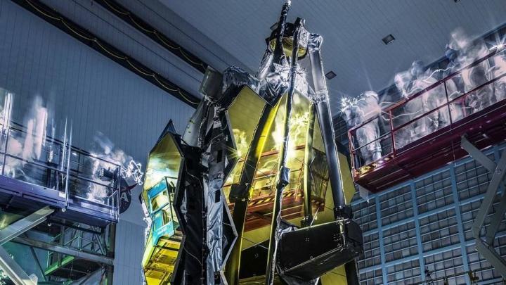 """NASA представило """"призрачные"""" снимки телескопа """"Джеймс Уэбб"""""""