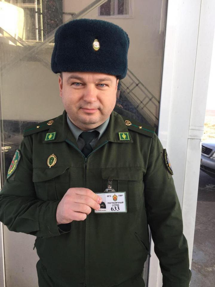 """Замглаву ГИП Георге Кавкалюка """"заблокировали"""" на КПП Приднестровья"""