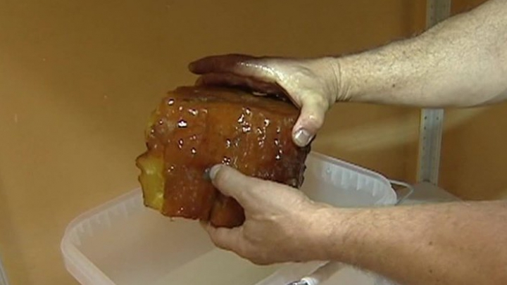 Под Калининградом нашли янтарь весом 3,2 килограмма