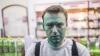 В Москве неизвестный облил зеленкой Алексея Навального