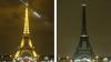 Огни на Эйфелевой башне погасли в память о жертвах теракта в Петербурге