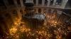 Чудо схождения Благодатного огня в Храме Гроба Господня