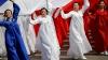 Празднования в Пхеньяне, посвященные Дню Солнца, завершились фейерверком