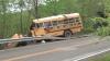 В США школьный автобус врезался в дерево, уходя от столкновения на дороге с оленем