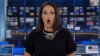 Австралийскую телеведущую застали с раскрытым от ужаса ртом в прямом эфире