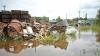 В Хынчештах река подтопила десятки домов