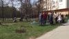 Члены молодежной организации ДПМ устроили субботник на Чеканах