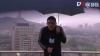 СМИ: в Китае молния попала в телеведущего во время прямого эфира