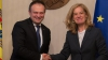 Председатель парламента встретился с послом Нидерландов в Молдове